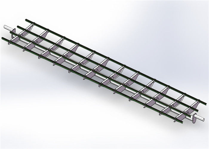 Frameless Module Solar Heating System Power Bracket 20 M Max Building Height